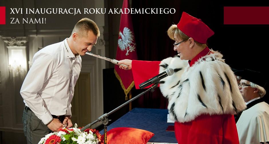Inauguracja roku akademickiego z jubileuszem w tle!