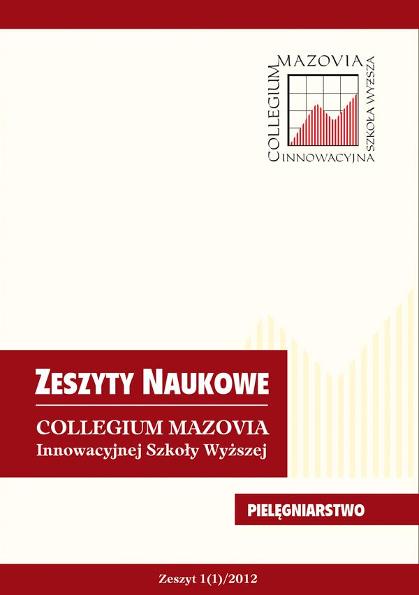 Zeszyty Naukowe Collegium Mazovia, Pielęgniarstwo