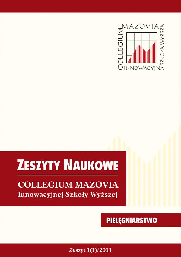 Zeszysty naukowe Collegium Mazovia, Pielęgniarstwo