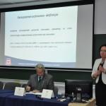 mgr Jolanta Kucharska podczas wykładu