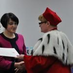 Podziękowania - Hanna Sposób, przewodnicząca ORPiP w Siedlcach