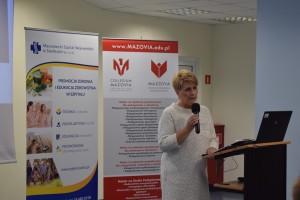 Dyrektor MSWS ds. Pielegniarstwa i organizacji opieki Anna Garucka