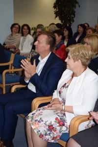 Prezes MSWS Marcin Kulicki i Marszałek Elzbieta Lanc